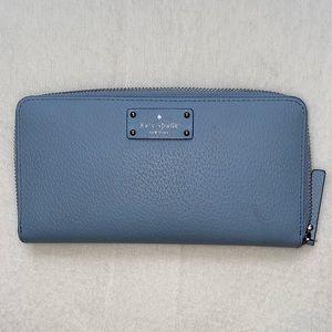 Kate spade groove street zip up wallet